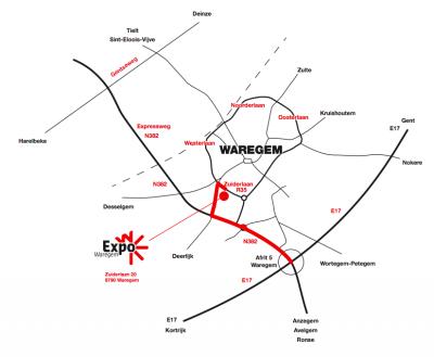 liggingsplan Waregem expo