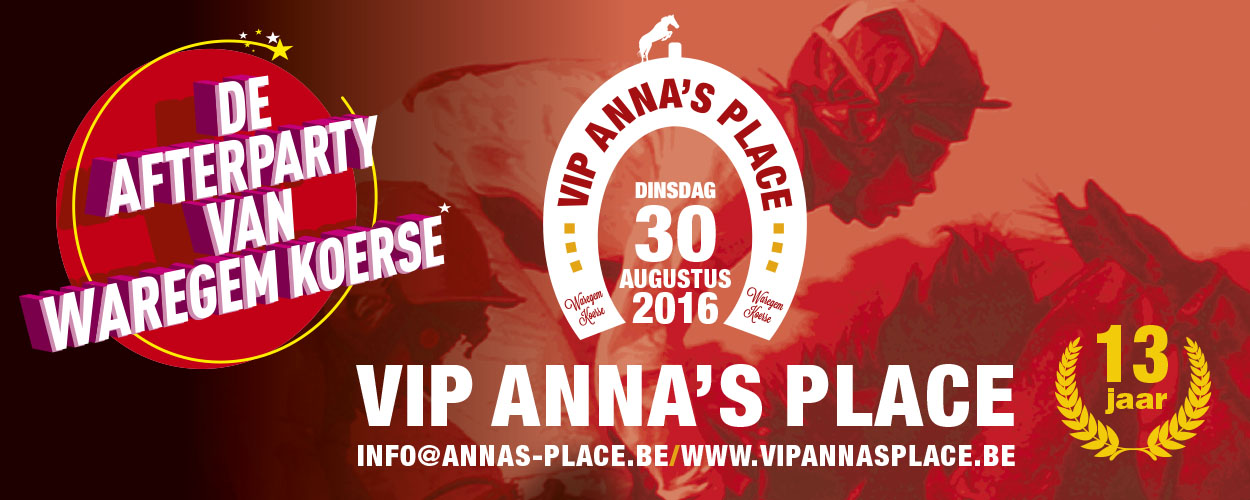 Vip Anna's Place Waregem Koerse