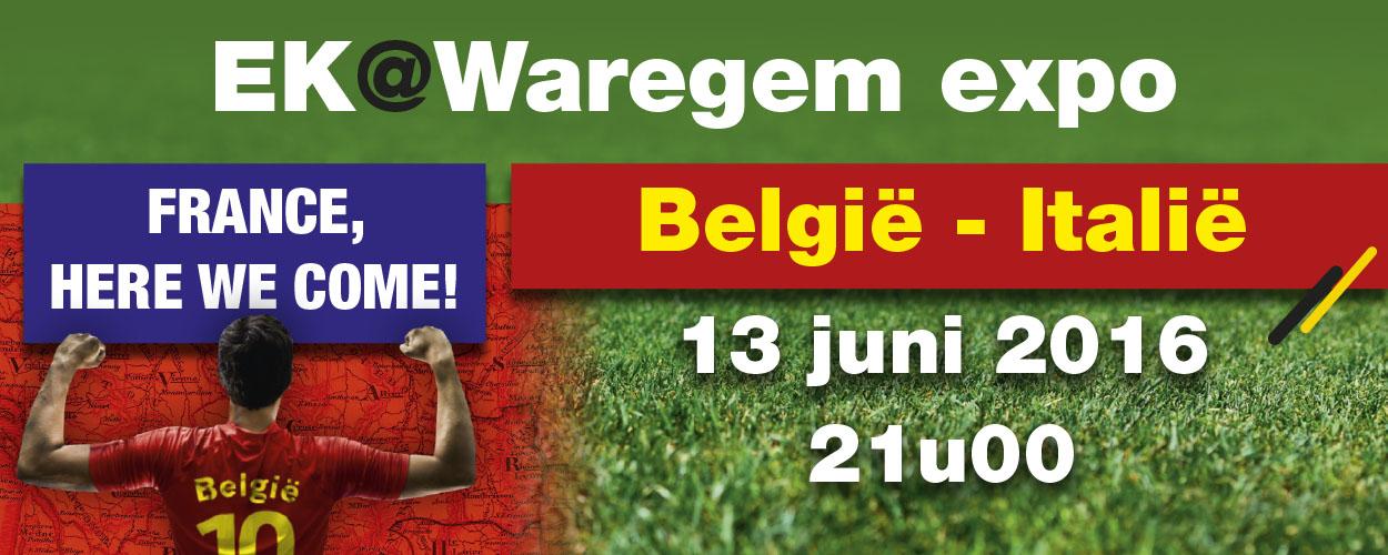 "EK@Waregem expo ""België – Italië"""
