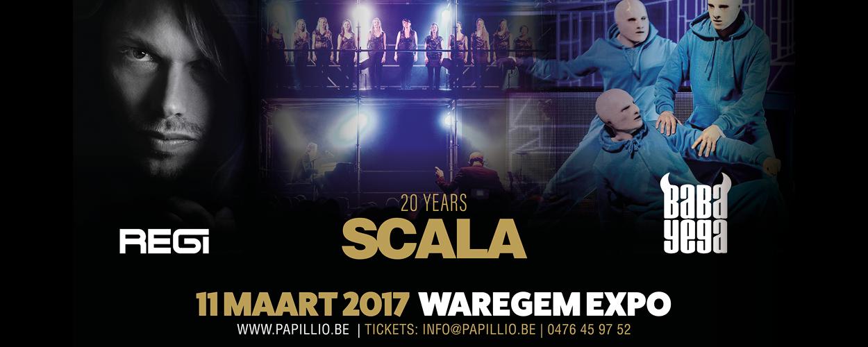 20 Years Scala & Kolacny Brothers + REGI (DJ SET) + Baba Yega