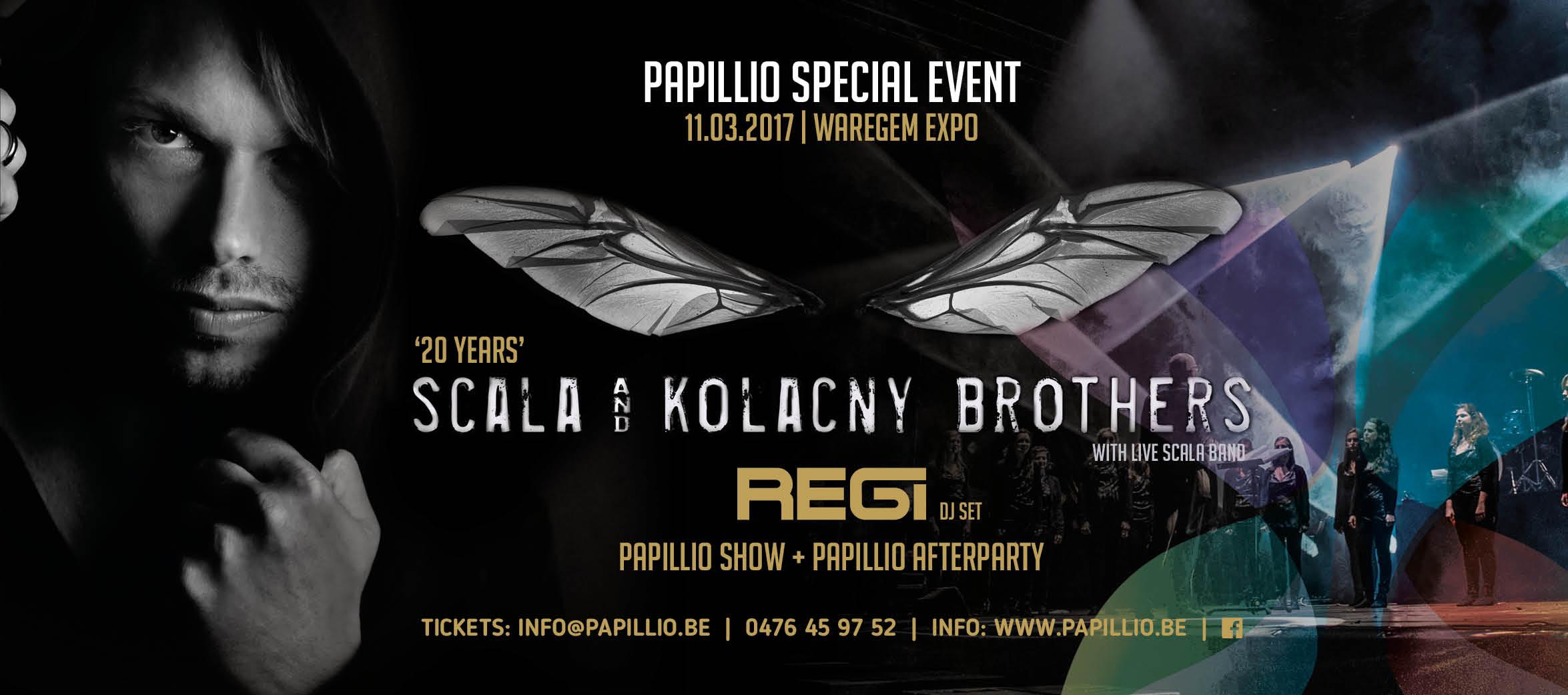 20 Years Scala & Kolacny Brothers + REGI (DJ SET)