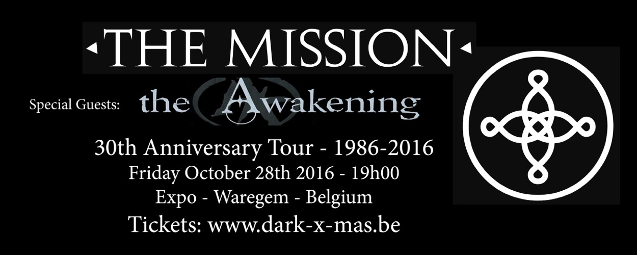 The Mission 30th Anniversary tour 1986-2016
