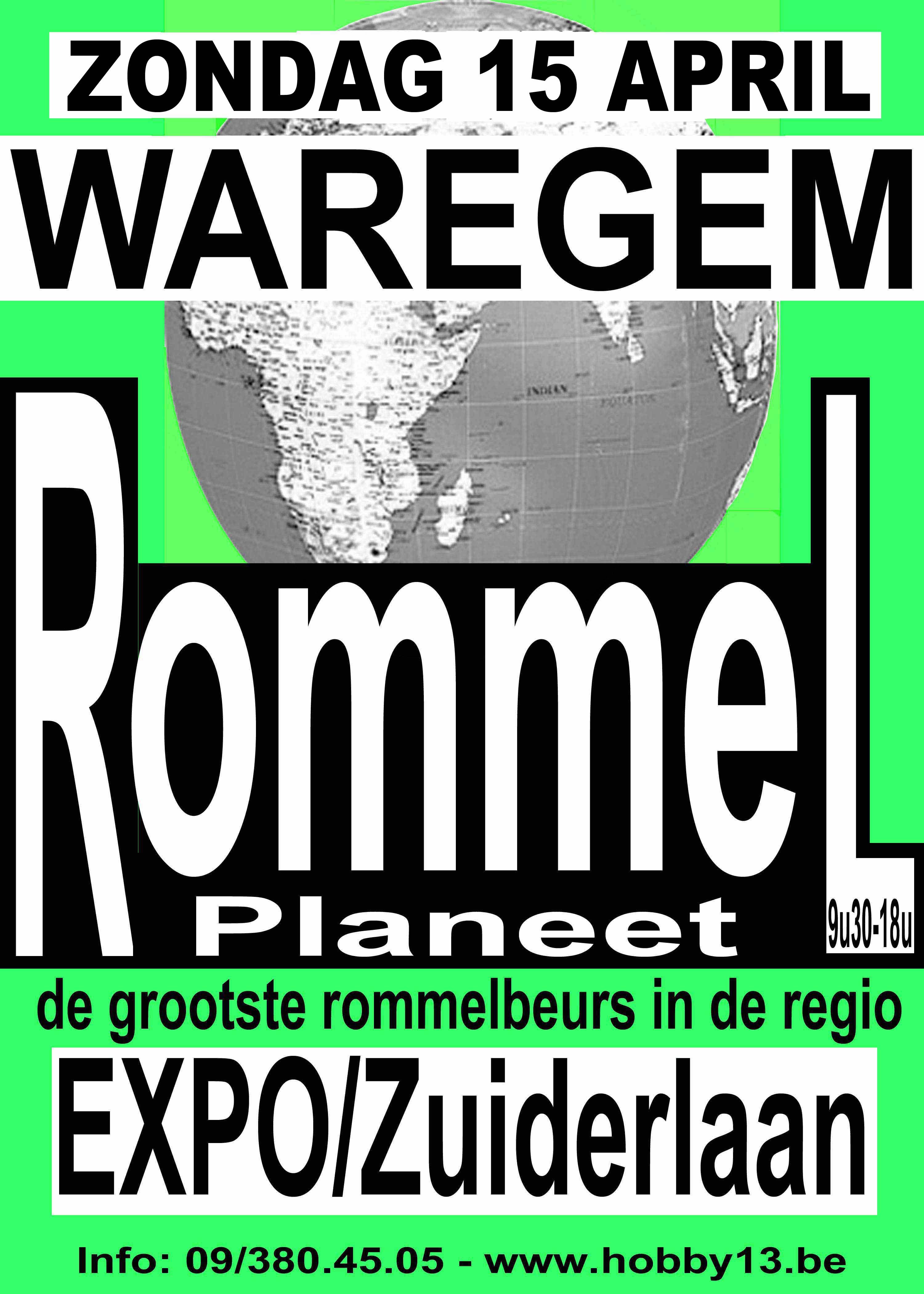 Rommelmarkt & stripbeurs