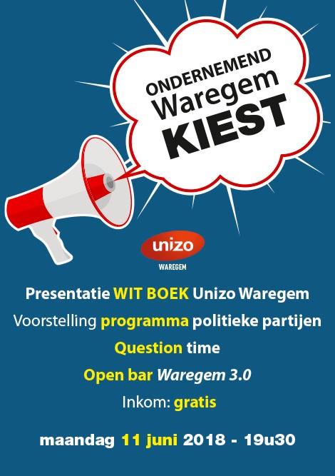 Voorstelling Witboek Unizo Waregem