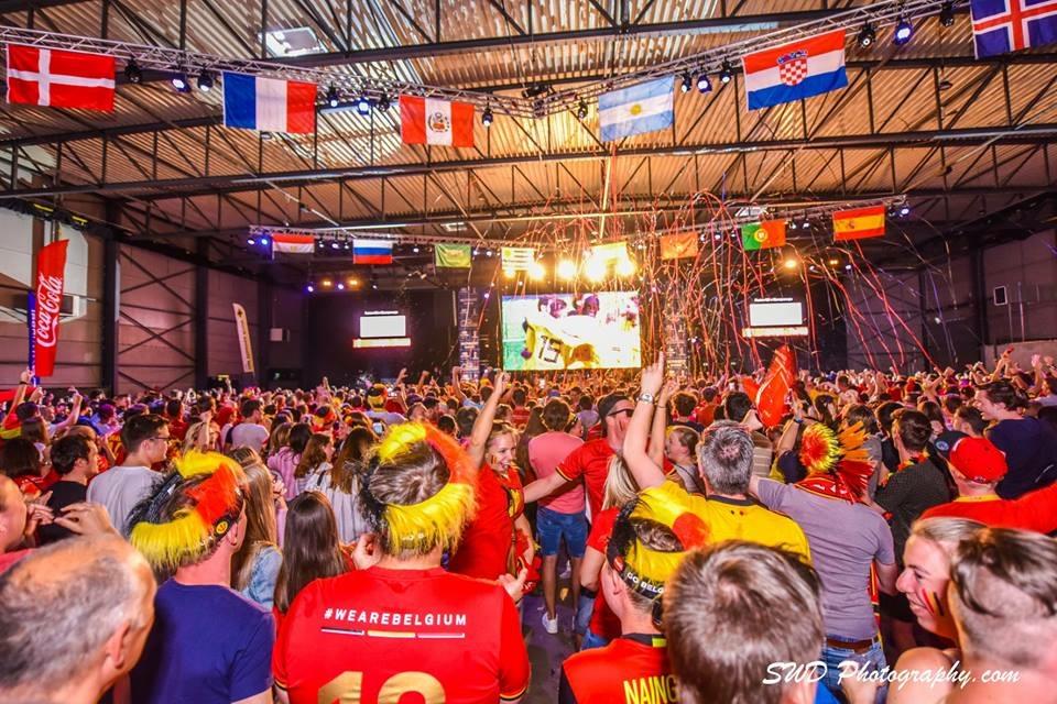 WK @ Waregem expo Hyundai fanvillage – België – Engeland