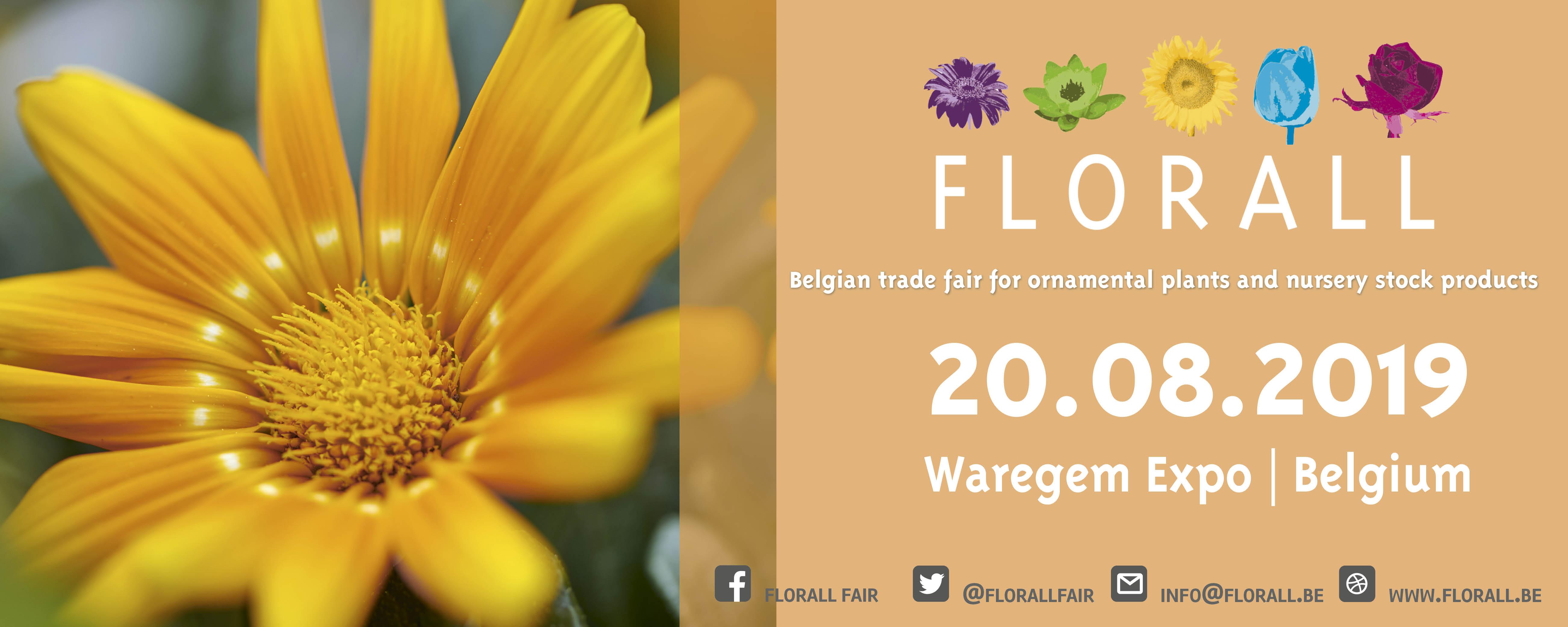 Florall, de vakbeurs voor sierplanten en boomkwekerijproducten – najaarsbeurs