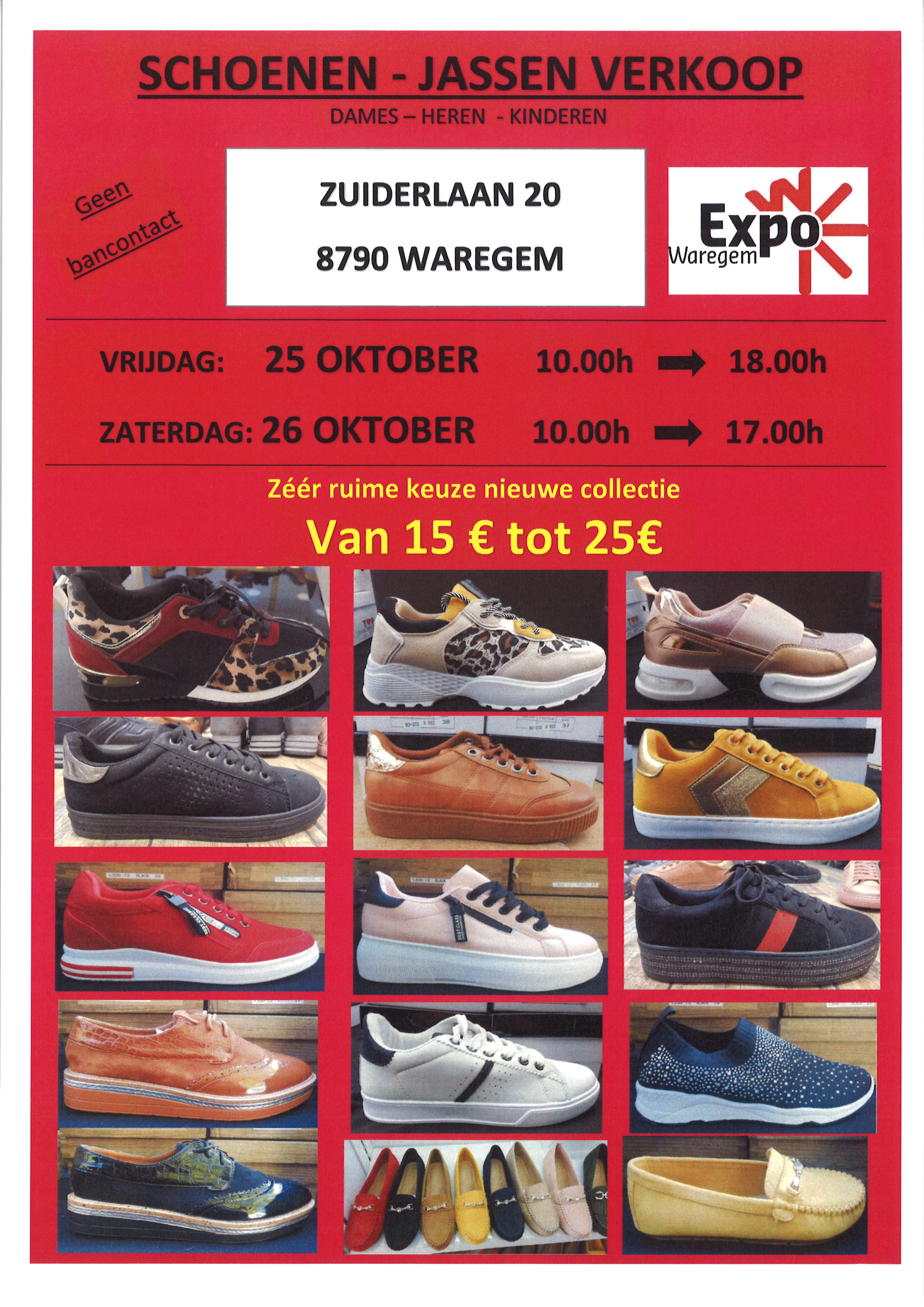 Stockverkoop schoenen & jassen