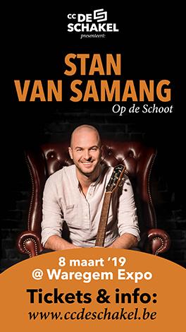 Stan Van Samang – op de schoot