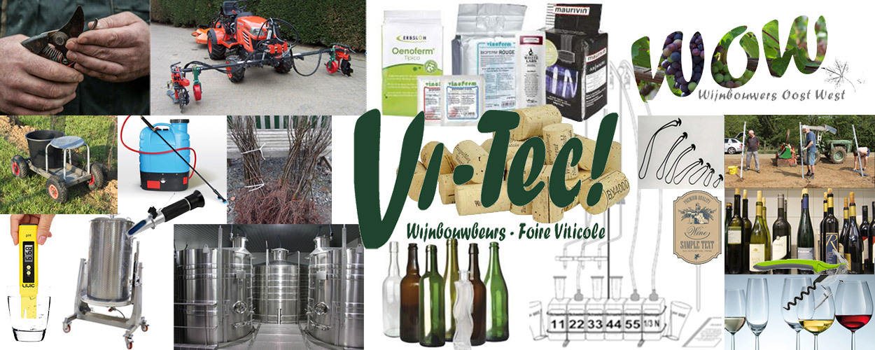 Vi-Tec wijnbouwbeurs – verplaatst naar 12 en 13 december