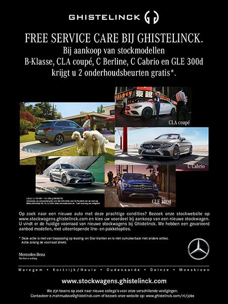 Ghistelinck, uw Mercedes-Benz partner voor de toekomst