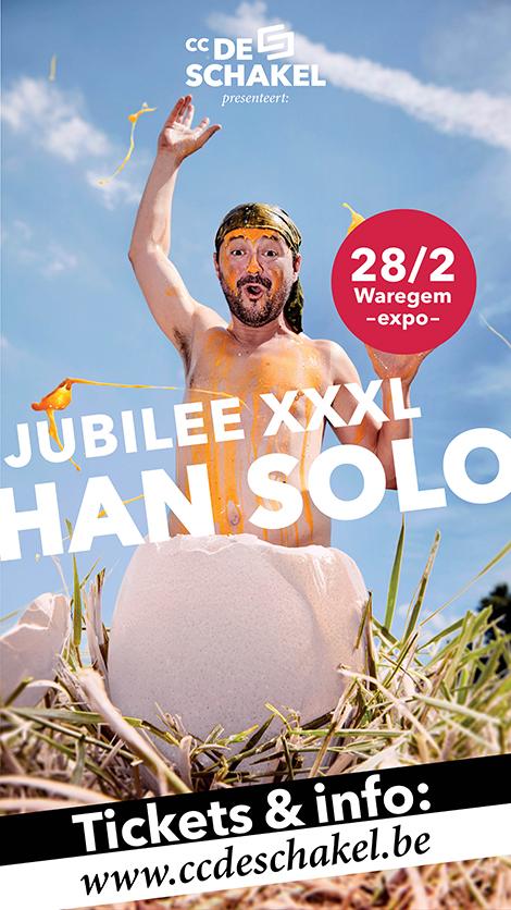 Han Solo Jubilee XXXL