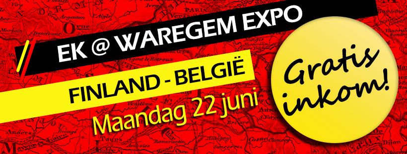 """EK@Waregem expo """"Finland – België"""" – geannuleerd"""