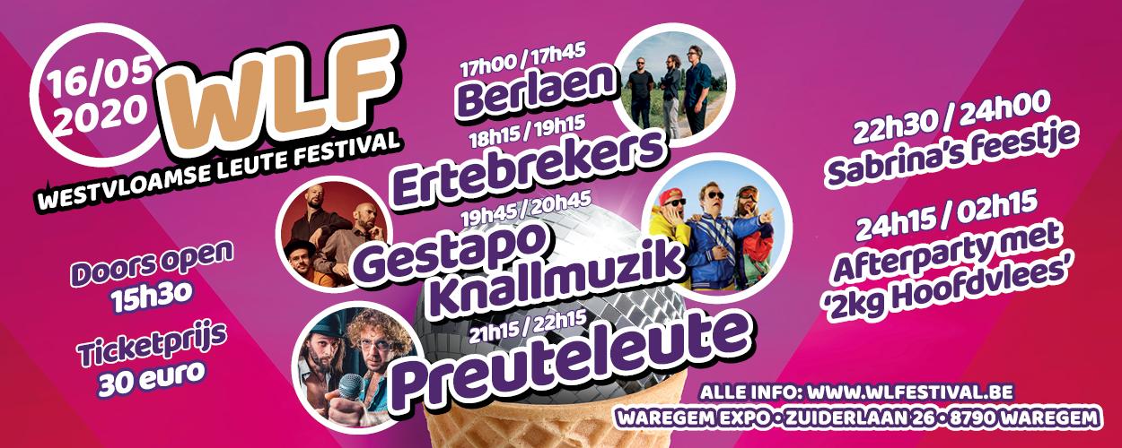 Westvloamse Leute Festival – verplaatst naar 19 augustus 2020