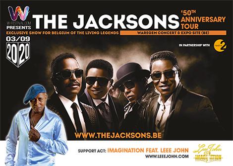 The Jacksons in concert – geannuleerd