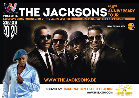 The Jacksons in concert