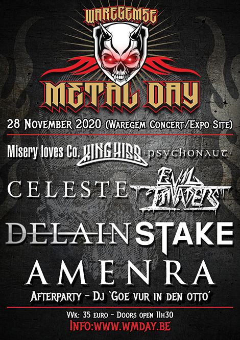 Waregemse Metal Day – geannuleerd