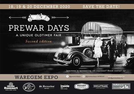 Prewar Days – geannuleerd