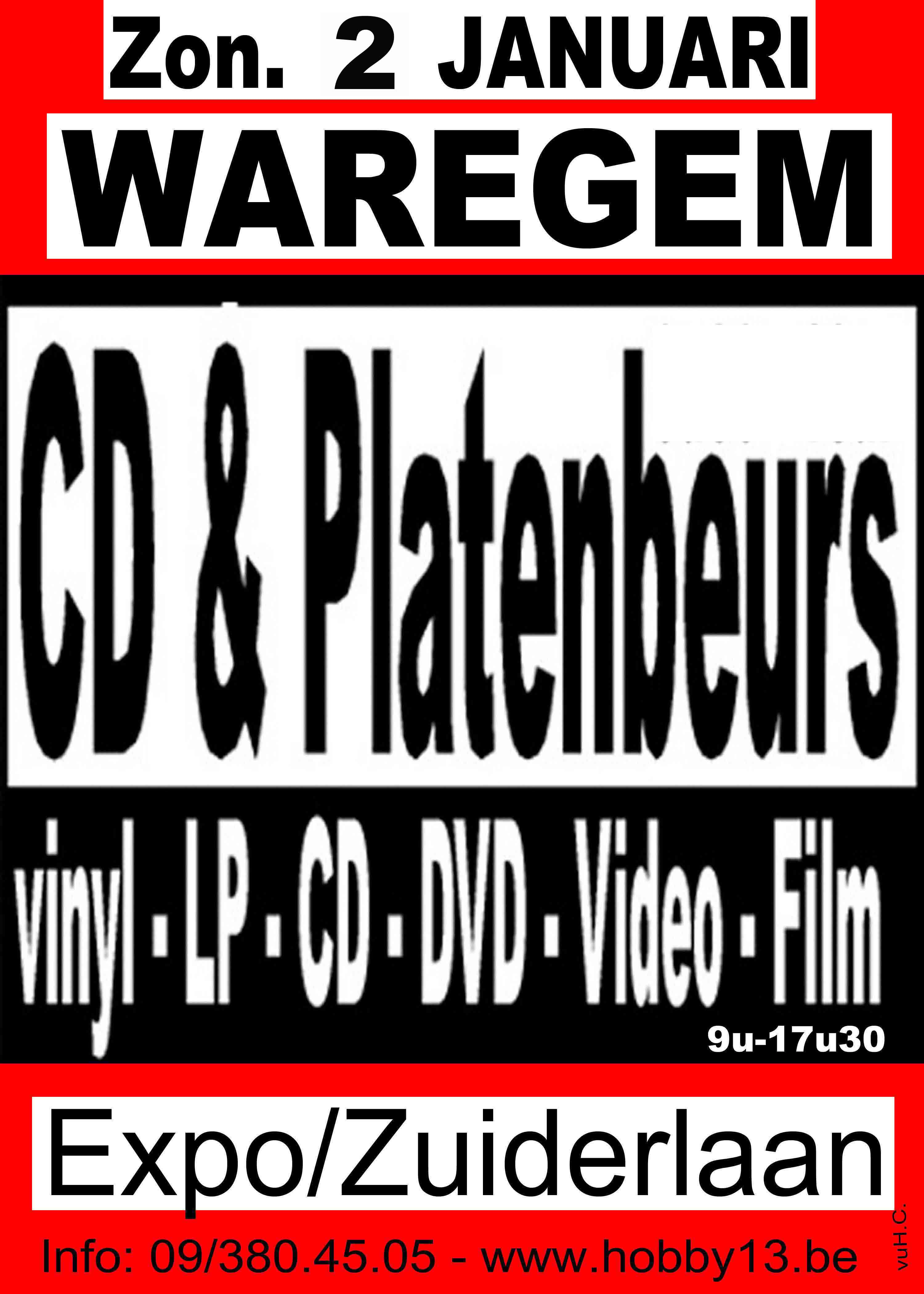 Rommelmarkt, cd-en platenbeurs