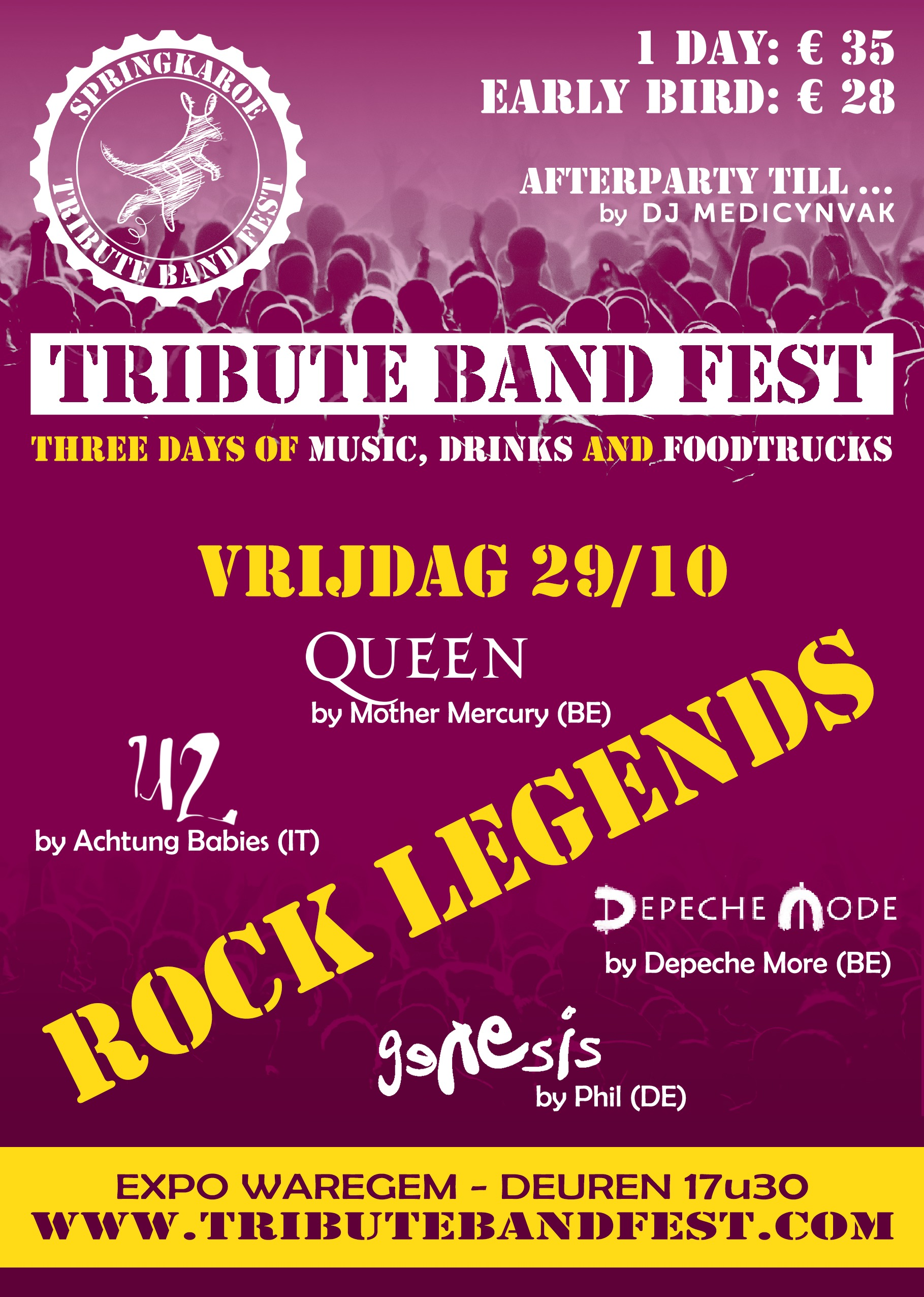 Tribute Band Fest – Rock Legends