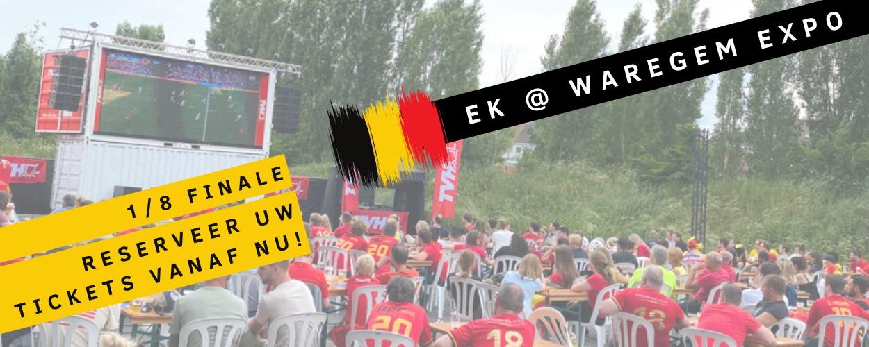 EK@Waregem expo – 1/8 finale